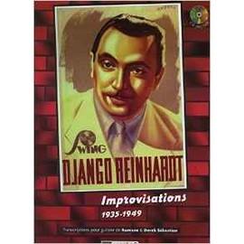 Improvisations 1935-1949 [Partition] by Reinhardt, Django