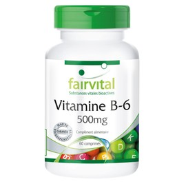 Vitamine B-6 500mg - 60 Comprim�s - Fairvital