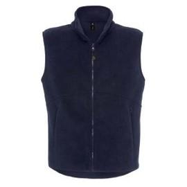 Gilet Polaire Sans Manches - Bodywarmer Fleece Traveller Plus - Bleu Marine