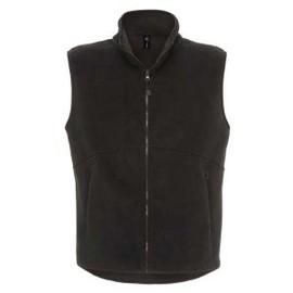 Gilet Polaire Sans Manches - Bodywarmer Fleece Traveller Plus - Noir