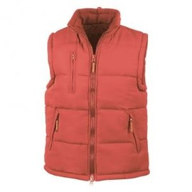 Doudoune Anorak Sans Manches Bodywarmer - R088x - Rouge