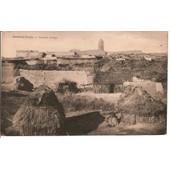 Maroc - Kasba Tadla - Carte Postale De 1945 - Gourbis Arabes