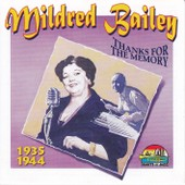 Cd Giants Of Jazz 53282 Mildred Bailey : Thanks For The Memory (1935-1944)