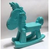 Figurine Cheval � Bascule - 8cm