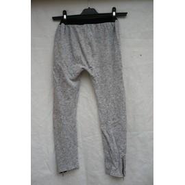 Pantalon De Jogging Love P'tit Monne 10 Ans Gris