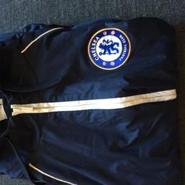 Blouson Chelsea Official Polyester L Bleu Marine