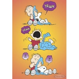 Poster Peanuts: Linus & Snoopy