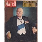 Paris Match N� 825 Du 30/ 1 /1965 : Hommage � Un G�ant, Winston Churchill