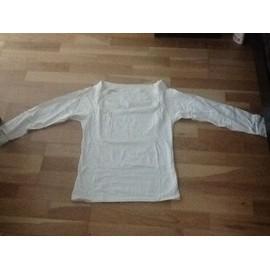Pull H&m Coton M Blanc