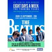 The Beatles: Eight Days A Week /The Touring Years-V�ritable Affiche De Cin�ma Roul�e-Format 40x60 Cm -De Ron Howard Avec Paul Mccartney, Ringo Starr, John Lennon, George Harrison- 2016
