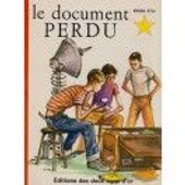 Le Document Perdu Editions Des Deux Coqs D Or N� 8 de Le document perdu par Charles H. Veral Illustrations de J. Pecnard Adaptation d'Odile Pidoux