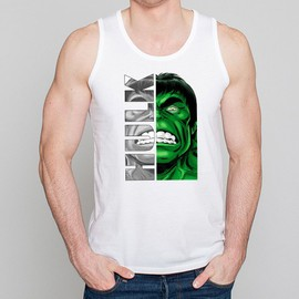 D�bardeur Homme Blanc Super-H�ros Hulk