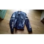 Blouson Moto Cuir Furygan Homme Taille L (Mais �quivaut � Taille M) Noir