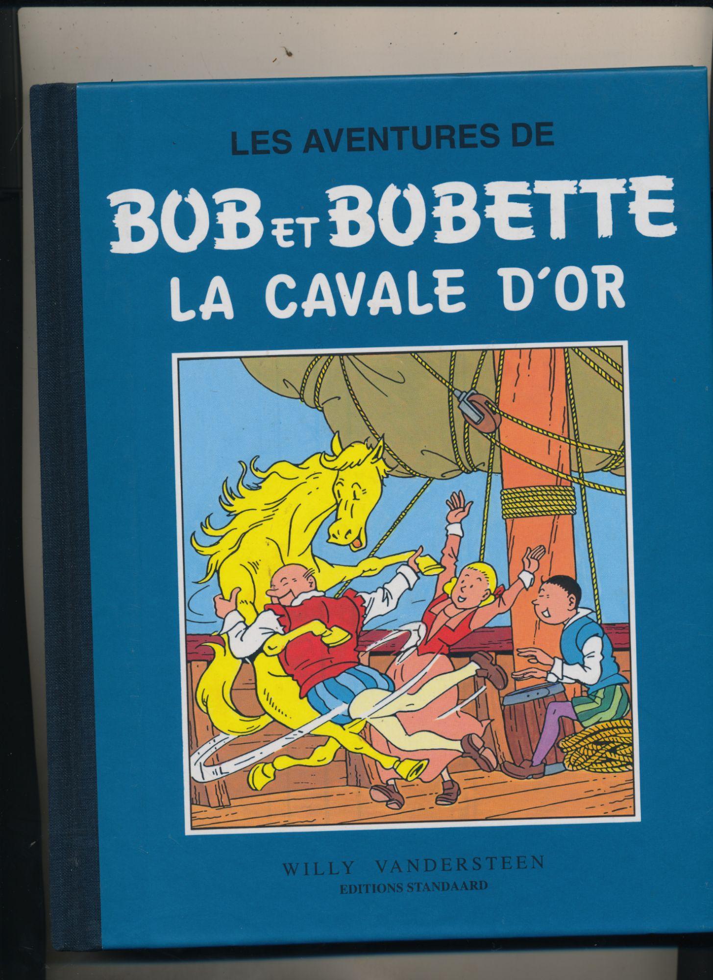 BOB ET BOBETTE TOME 8 LA CAVALE D'OR