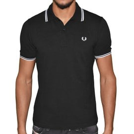 Fred Perry - Polo Manches Courtes - Homme - Fpetsm3600 - Black White