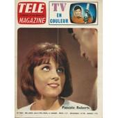 T�l� Magazine N� 484 (30 Janvier 1965) : Pascal Roberts (Couverture + Article 4 Pages ) + 8 Photos De La Collection T�l� Magazine : Johnny Hallyday + Roger Moore (Le Saint) de collectif