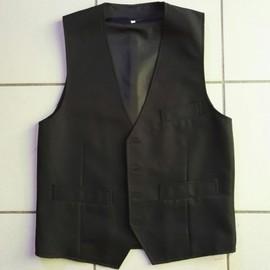 Gilet Bolero Polyester M Noir