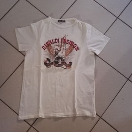 T-Shirt Rivaldi Coton Xl Blanc