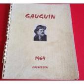 Calendrier Calberson Gaugin 1969