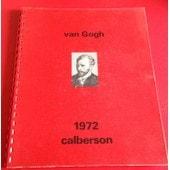 Calendrier Caleberson Vincent Van Gogh 1972