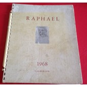 Calendrier Caleberson Rapha�l 1968