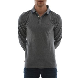 Polos Manches Longues Tommy Hilfiger Polo 6 Gris