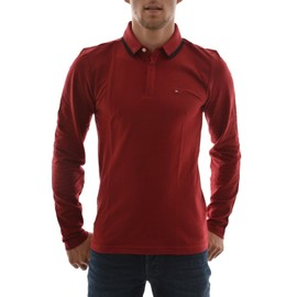 Polos Manches Longues Tommy Hilfiger Polo 6 Rouge