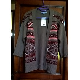 Gilet Scottage Myankee Acrylique S Taupe