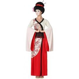 D�guisement Femme Geisha Rouge