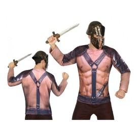 Tee Shirt 3d Gladiateur Homme