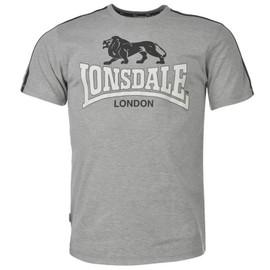 T-Shirt Lonsdale Uni Couleur Noir Gris Ou Marine