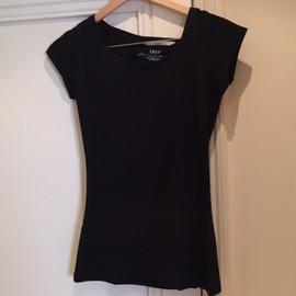 T-Shirt Noir H&m Manches Courtes