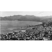 Carte Postale Ancienne Noir Et Blanc - Dentelee -271 Cannes Vue Generale Prise De La Californie Editions D'art Munier - Photo Veritable