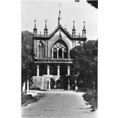 Carte Postale Ancienne - Noir Et Blanc - Entourage Blanc 318 - Nice Eglise Cimiez - Edition Ruynat