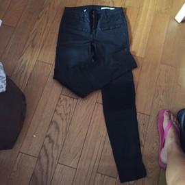 Pantalon Noir Zara Femme