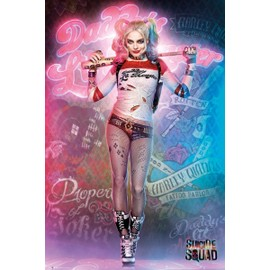 Suicide Squad Maxi Poster 61 X 91,5 Cm Harley Quinn Stand