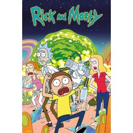 Unbranded Maxi Poster 61 X 91,5 Cm Rick And Morty Group