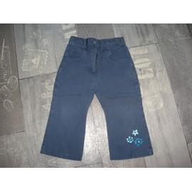 Pantalon Kiabi Coton 3 Ans Bleu