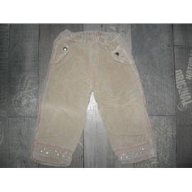 Pantalon Sans Marque Coton 2 Ans Beige