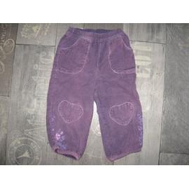 Pantalon Tissaia 2 Ans Violet