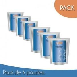 Pack 6 Poudres Subtil Blond 500 Grs