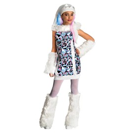 Costume De Abbey Bominable - Monster High - Taille 5/7 Ans (108 � 120cm)
