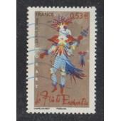 Timbre N�3922 Y&t 0,53 � Multicolore Personnages C�l�bres Les Op�ras De Mozart La Fl�te Enchant�e Costume De Chapelain-Midy