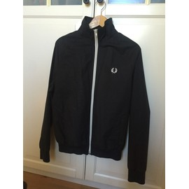 Blouson Fred Perry Noir, Taille S