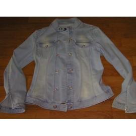 82e1f23d0302 Veste Cappopera Jeans En Jean Bleu Ciel Taille 38