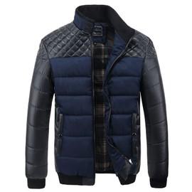 Blouson Homme Manteau Chaud Mode Veste Matelass�e D'hiver V�tement Chaud