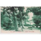 Japon : The Garden Of Daibutou - 1910