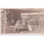 Japon : Japonaises En Costume Traditionnel Prenant Le Th�- 1910