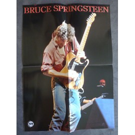 Poster couleurs Bruce Springsteen