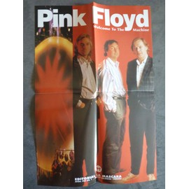Poster couleurs Pink Floyd - Welcome to the machine
